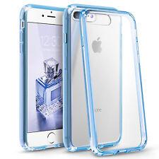 PARACHOQUES NUEVO con silicona TPU transparente rígida posterior para iphone se 4 5 5C 5s 6 6S 7 Plus