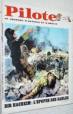 PILOTE EO N°483 6/02 1969 PILOTORAMA BIR HACHEIM GREG ASTERIX LUCKY LUKE TANGUY
