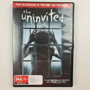 The Uninvited DVD - Emily Browning - Region 4 - TRACKED POST