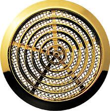 MINI CERCHIO AIR VENT GRIGLIA COPERCHIO 80mm (3.15 pollici) condotti oro copertura Ventilazione