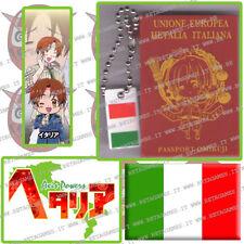 HETALIA AXIS POWERS MASCOT Passport Omikuji ITALY hetalia passaporto portachiavi