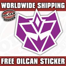 G2 Decepticon Logo STICKER/DECAL Transformers 85mm X 85mm