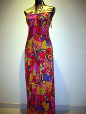 BNWT DESIGNER TRINA TURK HALTER EVENING GOWN MAXI DRESS SIZE US4 AU8/10 US$348