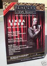 Linda Eder Counter Display Standup For New York Concert