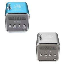 Mini Digital Speaker FM Radio MP3 Music Box TD-V26 with Micro SD / TF / USB