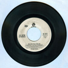 Imported CELINE DION Because You Love Me 45 rpm Record