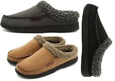 Men's 09 Memory Foam Comfort Slip On Slipper Christmas Day Present! Sizes 6 - 13