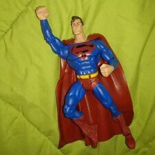 SUPERMAN BLACK S SYMBOL DC SUPERHEROES S3 select sculpt mattel action figure