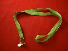 XBOX 360 Promotional Lanyard Chain Green Promo Tag Holder