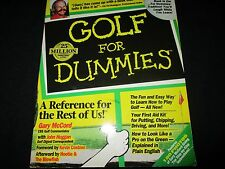 Golf for Dummies by Gary McCord Paperback Book (English) - Learn To Play Golf