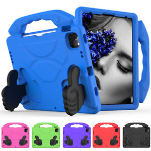 "For iPad Air 10.9"" 4th Gen 2020 Kids Shockproof Foam EVA Handle Stand Case Cover"