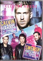 2x Electro House DVD Calvin Harris 2014 e Swedish House Mafia 2011 Sealed