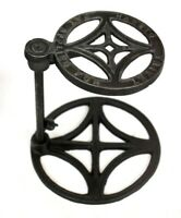 Vintage HADSTO Patent Applied Height Adjustable Cast Iron Trivet [6147]