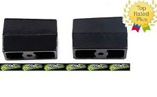 "1969-2011 Chevrolet GMC 1500 Zone 4"" 2.3° Suspension Lift Blocks 9/16"" Pin U3040"