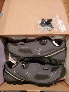 Louis Garneau Granite II Men's SPD compatible Cycling Shoes, Black, uk 43, us9.5