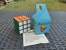 Ultra Rare Vintage Second Batch Politechnika Rubik's Cube NEW, UNPLAYED!!!