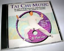 VERY RARE CD - TAI CHI MUSIC DR. PAUL LAM 2000 BY EAST ACTION VIDEOS