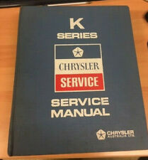 Chrysler Valiant VK Series Factory Shop Manual Collectors Item