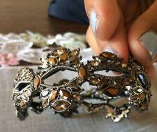Topaz Stretch Bracelet Costume Jewelry - Rhinestones