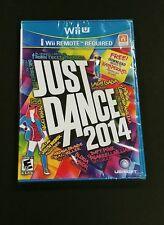 Just Dance 2014 (Nintendo Wii U, 2013) Brand New Factory Sealed