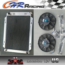 ALUMINUM RADIATOR for 79-93 FORD MUSTANG 80 81 82 83 84 85 86 87 88 89 +2 X FANS