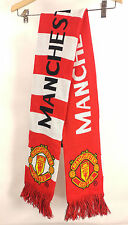 Manchester United FC Authentic Official Licensed Product Soccer Striped Scarf