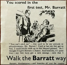Barrats, Walk the Barrat Way Vintage Advertisement 1947