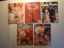 (5) 1998 Barbie Bazaar Magazines February, April, June, October & Dec. Good Cond