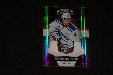 MICHAEL DEL ZOTTO 2010-11 PANINI CERTIFIED GAME USED JERSEY CARD RANGERS 081/150