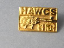 HAWKS CALGARY POLICE HELICOPTER PIN THE SKY IS THE LIMIT LAW ENFORCEMENT BUTTON