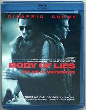 BODY OF LIES Blu-ray 2009 Warner Bros (Canada) NM condition, no digital copy