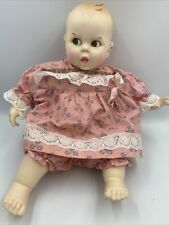 "Vintage Gerber Baby Doll 1970 Flirty Follow Me Googly Eyes 17"" with Bonus"