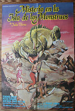 Used  Cartel de Cine   MISTERIO EN LA ISLA DE LOS MONSTRUOS   Movie Film Poster