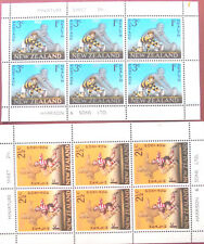 New Zealand Set of Two Postage Stamp Minisheets 1967 Health Rugby