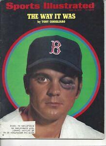 1970 6/22 Sports Illustrated magazine baseball Tony Conigliaro Boston Red Sox VG