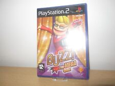 PlayStation 2 ps2 Buzz The Mega Quiz Sealed Pal ps2