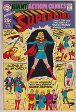 Action Comics #373 VF-NM 9.0 All Supergirl Issue Superman Family 1969!