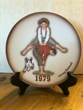 New ListingNorman Rockwell First Limited Edition 1979 Leapfrog Annual Plate with Box