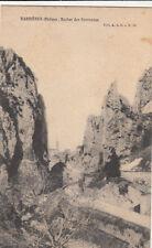 BARBIERES rocher des sarrasins