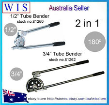 "1/2"" & 3/4""  Tube Bender 180º Plumbing A/C Refrigeration Copper Aluminium Pipes"