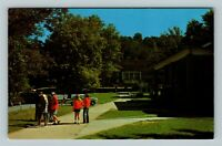 Young Harris GA, Young Harris College, Appleby Center, Chrome Georgia Postcard