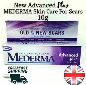 GENUINE New Mederma ADVANCED PLUS Scar Gel 10g For Scars & Marks UK Seller