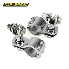 """Engine Guard Highway Metric 1 1/4"""" Foot Peg Footpeg Mounts Chrome For XL883 1200"""