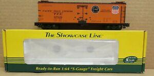 S-Helper 01641 Union/Southern Pacific PFE Orange Reefer #97949 S-Gauge/Scale NIB