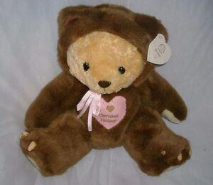 1998 CHERISHED TEDDIES GRUMPS TEDDY BEAR STUFFED ANIMAL PLUSH TOY ENESCO W/ TAG