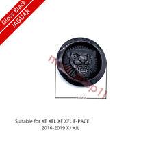 GLOSS BLACK FRONT GRILE JAGUAR LOGO EMBLEM BADGE XE XEL XF XFL F PACE X S TYPE