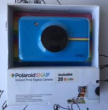 Polaroid Snap (POLSP01BL) Instant Digital Camera & Printer  + 20 sheets - BLUE
