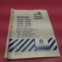 NEW HOLLAND TRACTOR REPAIR MANUAL TN55/S TN65D/S TN70D/S TN75D/S SEC. 41 (LT307)
