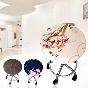 Creative Design Home Bar Stool Covers Round Chair Seat Cushions Sleeve Cover New