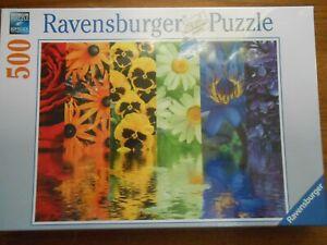 Ravensburger 164462 FLORAL REFLECTIONS 500 Piece Puzzle